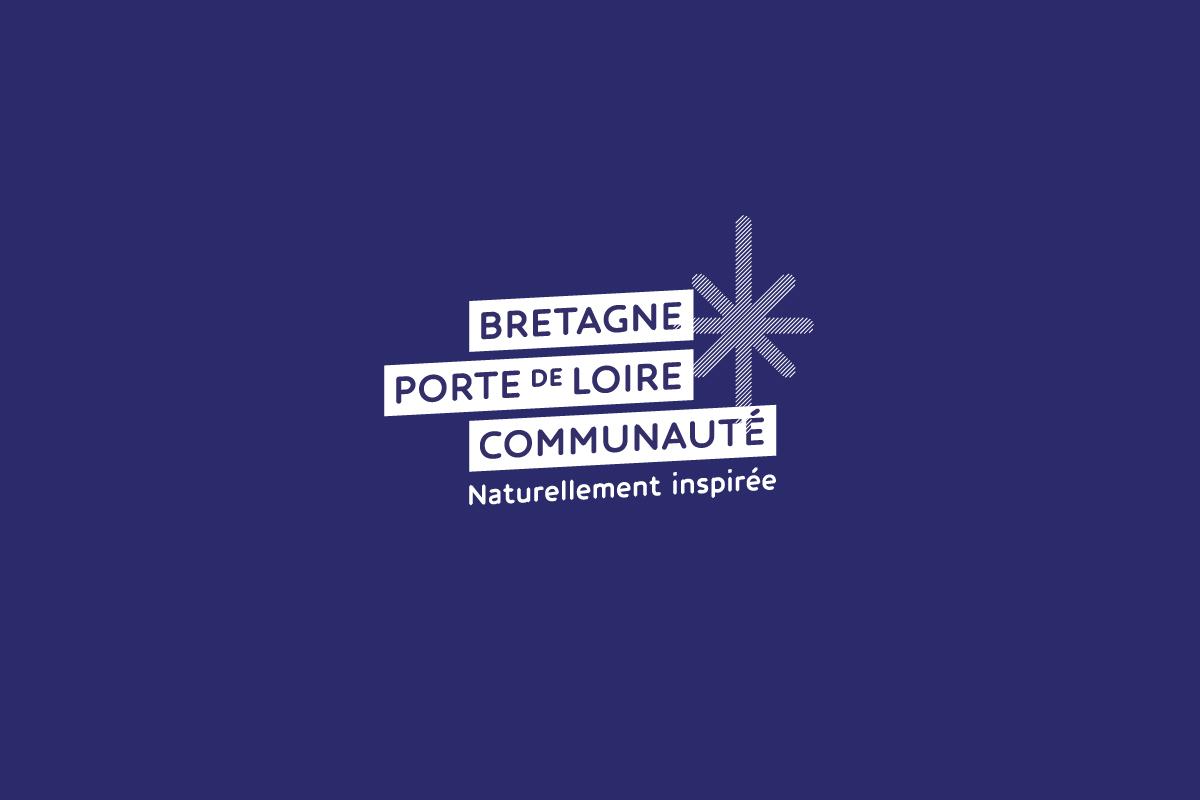 Logo de la communauté de communes Bretagne Porte de Loire