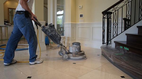 marble polish service