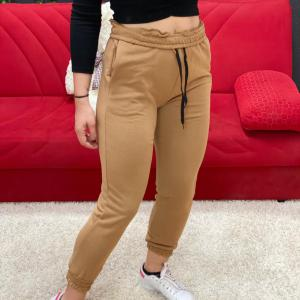 Pantalone tuta biscotto