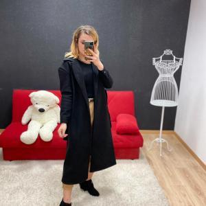 Cappotto lungo black