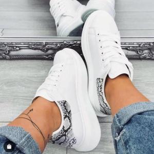 Sneakers pitonate