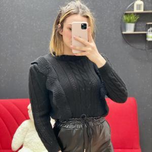 Maglione eva nero