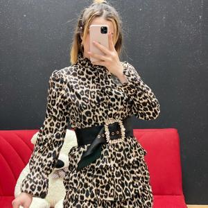 Abito Lara leopardato