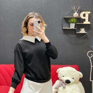 Abito con camicia black