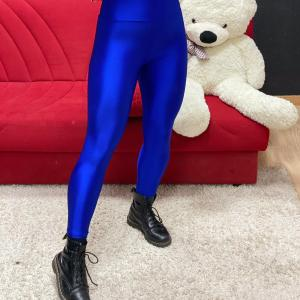 Legghins bustina blu