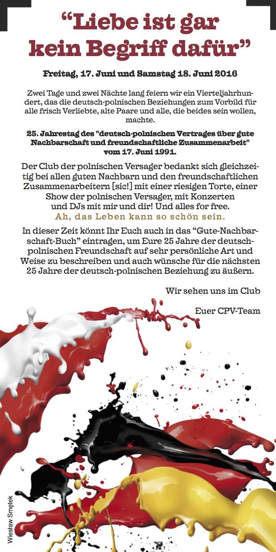 25 Jahre des deutsch-polnischen Ehevertrages