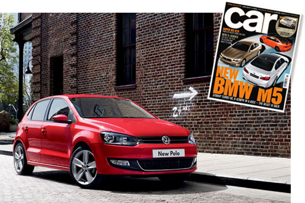 VW Polo named in Car magazine's top 10 cars of 2009