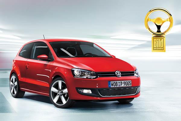 2009 Volkswagen Polo scores double Goldenes Lenkrad victory