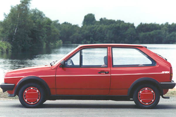 1985 Volkswagen Polo Coupe Fox