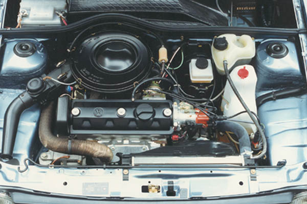 1986 Volkswagen Polo engine