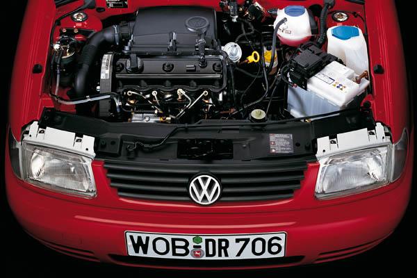 1994 Volkswagen Polo engine