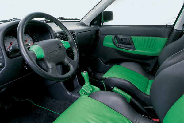 Volkswagen Polo Colour Concept 1997 Interior
