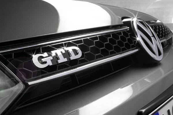 2009 Volkswagen GTD badge