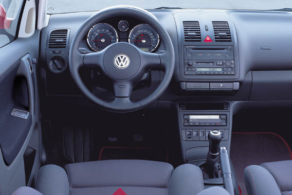 1999 Volkswagen Polo GTI 1999 interior