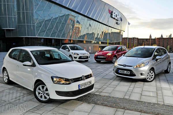 2009 Volkswagen Polo TDI SE vs rivals (Auto Express, 9 September 2009)