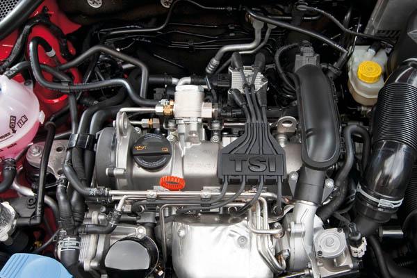 2009 Volkswagen 1.2 TSI engine