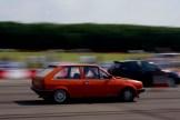 GTI International 2010: Daniel Collar's Polo Coupé on the sprint