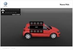 2010 Volkswagen Polo configurator at nuevoPolo.com