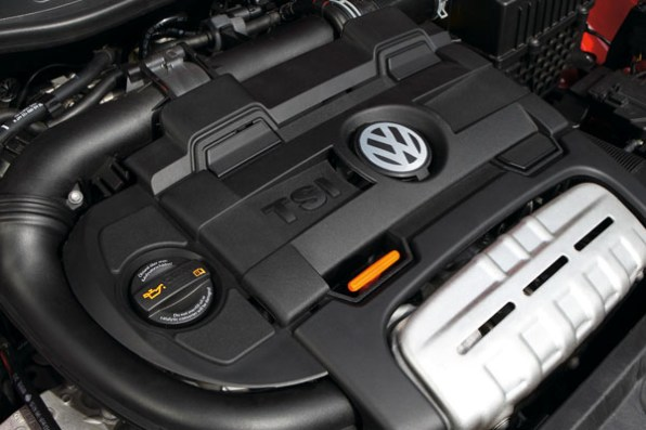 Volkswagen 1.4-litre 'twincharger' TSI engine