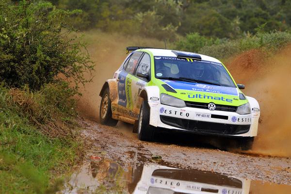 2012 Garden Route Rally: Weijs Jnr/Degandt