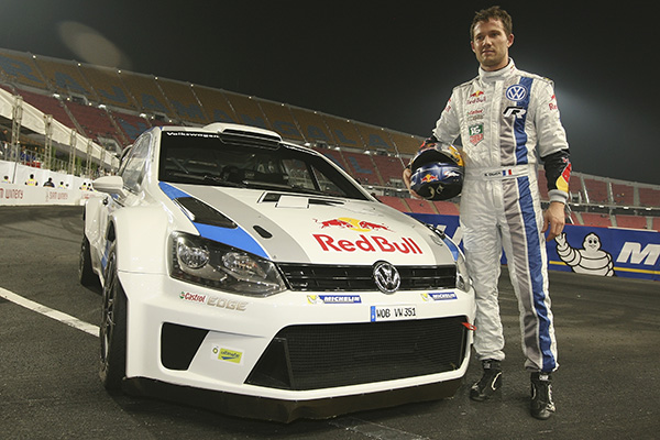 2012 Race of Champions: Volkswagen Polo R WRC and Sébastien Ogier
