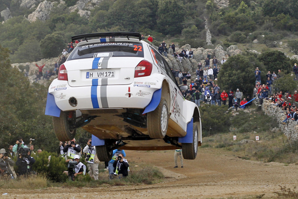 2012 Rally Italia Sardegna: Ogier/Ingrassia