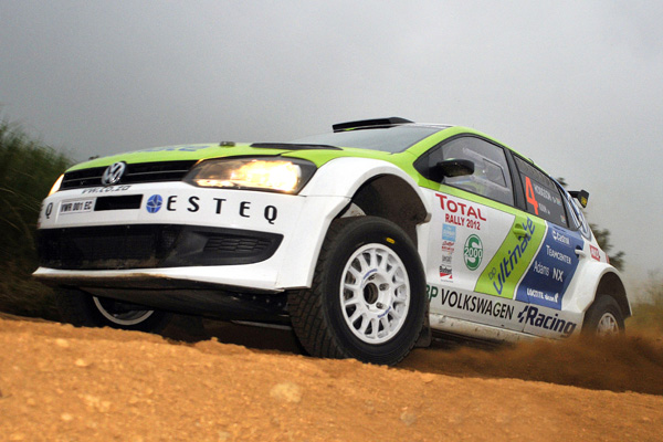 2012 Total Rally: Kuun/Hodgson