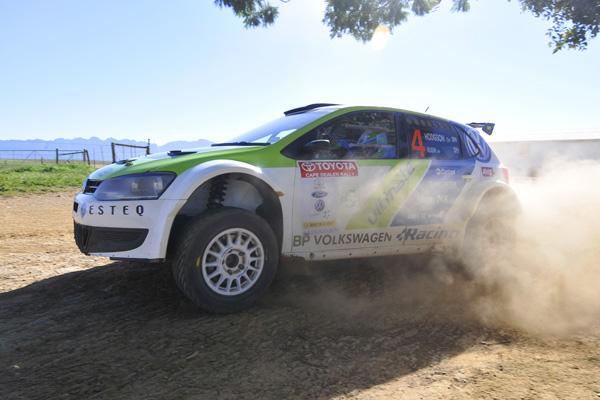 2012 Toyota Cape Dealer Rally: Kuun/Hodgson
