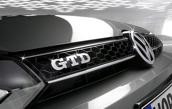 2012 Volkswagen Golf GTD badge
