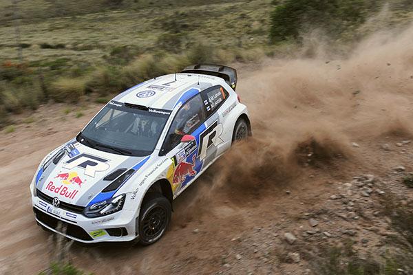 2013 Volkswagen Polo WRC: Rally Argentina, Latvala/Antilla