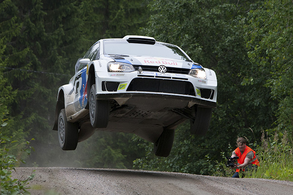 2013 Volkswagen Polo R WRC: Rally Finland testing sessions