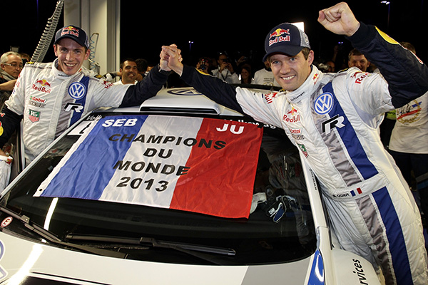 2013 Volkswagen Polo R WRC: Rally France, Ogier/Ingrassia