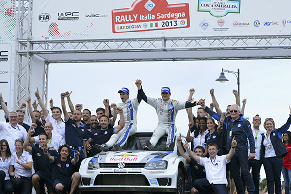 2013 Volkswagen Polo R WRC, Rally Italy: Ogier/Ingrassia