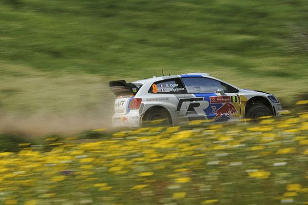 2013 Volkswagen Polo WRC: Rally Portugal, Ogier/Ingrassia