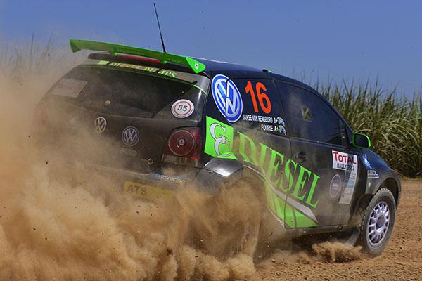 2013 Total Rally: Van Rensburg/Fourie
