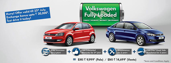 2013 Volkswagen India 'Fully Loaded' offer