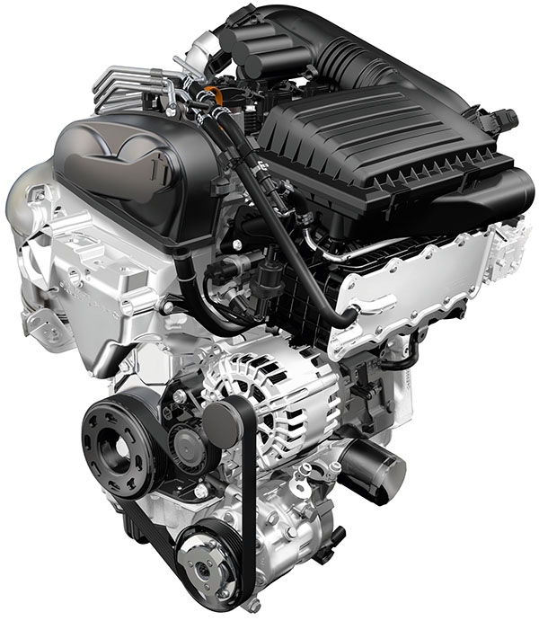 Volkswagen 1.4-litre TSI engine with ACT