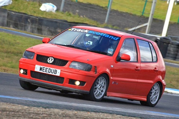 track day terror davie fraser s 300bhp polo gti 6n2 polodriver polodriver. Black Bedroom Furniture Sets. Home Design Ideas