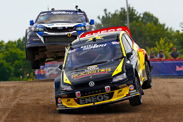 2014 Red Bull Global Rallycross Championship, New York: Foust