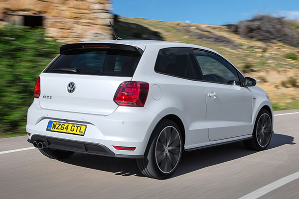 2014 Volkswagen Polo GTI (UK)