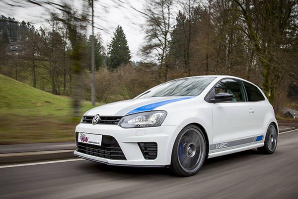 2014 Volkswagen Polo R WRC: KW suspension coilover kits announced