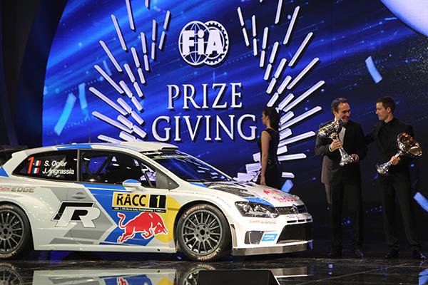 2014 Volkswagen Polo R WRC: FIA Prizegiving Ceremony