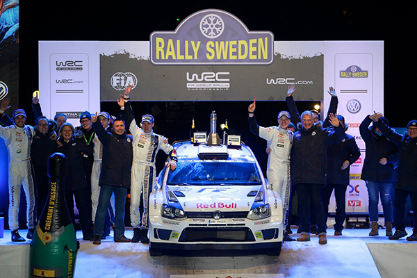 2014 Volkswagen Polo R WRC: Rally Sweden, Latvala/Anttila