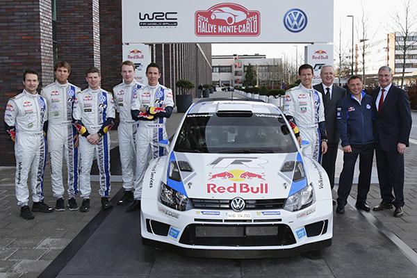 2014 Volkswagen Polo R WRC: 2014 championship Wolfsburg launch