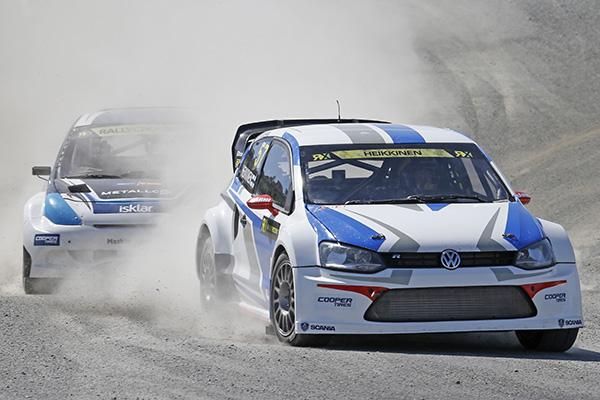 2014 Volkswagen Polo RX, Rallycross of Norway: Toomas Heikinnen