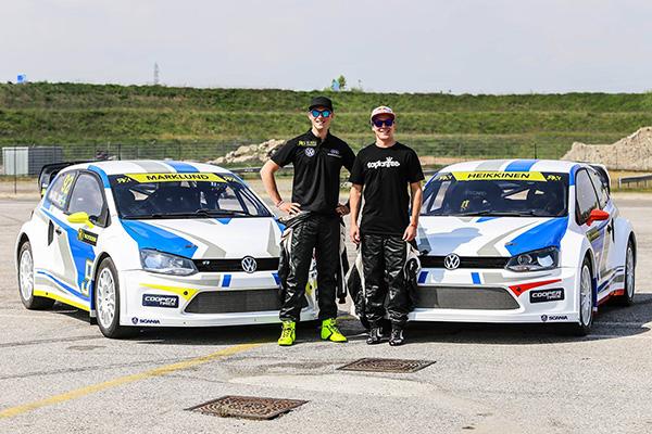2014 Volkswagen Polo RX: Anton Marklund and Topi Heikinnen