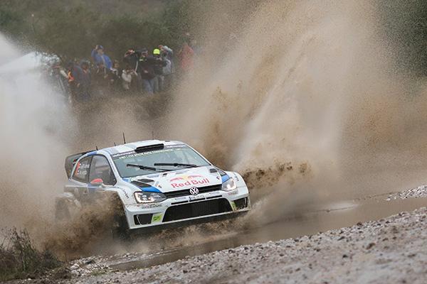 2014 Volkswagen Polo R WRC, Rally Argentina: Latvala/Anttila