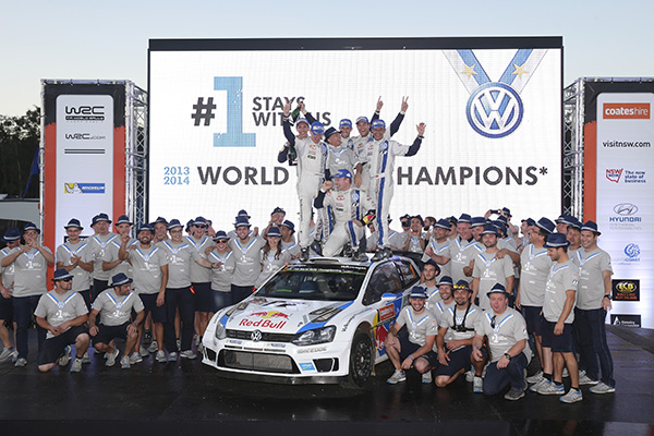 2014 Volkswagen Polo R WRC, Rally Australia: Volkswagen Motorsport team