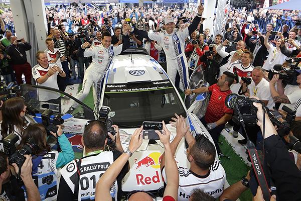 2014 Volkswagen Polo R WRC, Rally Poland: Ogier/Ingrassia