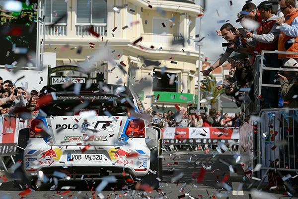 2014 Volkswagen Polo R WRC, Rally Portugal: Ogier/Ingrassia